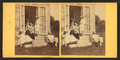 Family posing at the doorway, from Robert N. Dennis collection of stereoscopic views 3.png