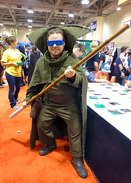 Cosplayer - Mole Man tijdens Fan Expo 2014.