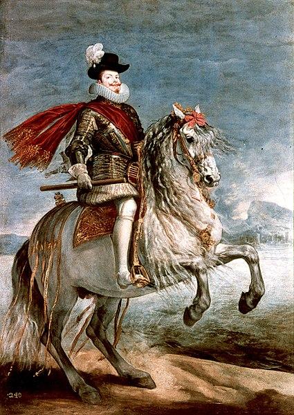 Archivo:Felipe III caballo Velázquez.jpg