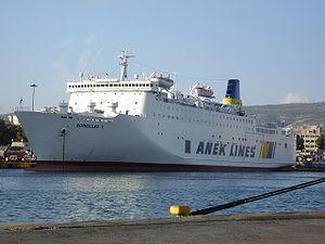 Ferry Sofoklis Venizelos, SWBZ, IMO 8916607, i...