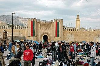Gates of Fez - Image: Fes Bab Chorfa