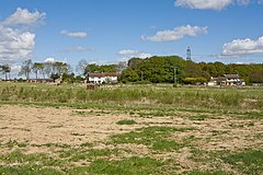 Field and houses south of Wickham Common - geograph.org.uk - 1273429.jpg
