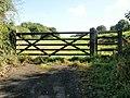Field entrance, Llanfrechfa - geograph.org.uk - 1534451.jpg