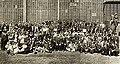 Film mogul Siegmund Lubin with his employees at Philadelphia studio, April 1912.jpg
