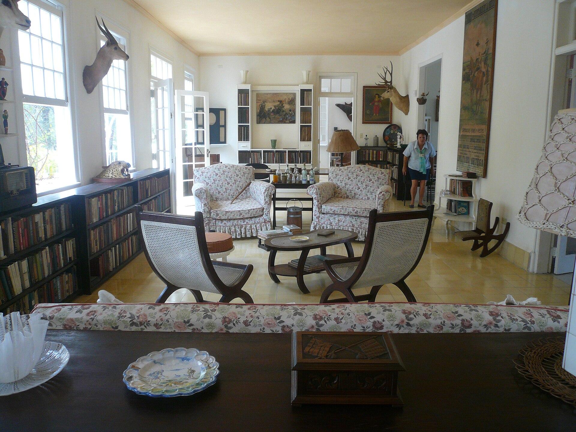 Cuban Living Room