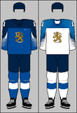 Finland national ice hockey team jerseys 2018 (WOG)