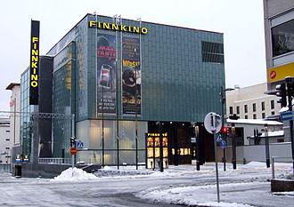 Cinema of Finland - Finnkino Plaza, a multiplex movie theater in Oulu