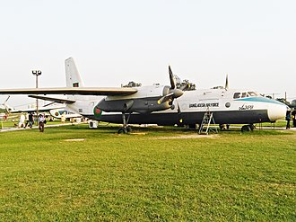 Antonov An-24 - Antonov An 24 of Bangladesh Air Force