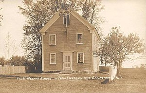 Effingham, New Hampshire - Image: First Normal School in New England, Effingham, NH