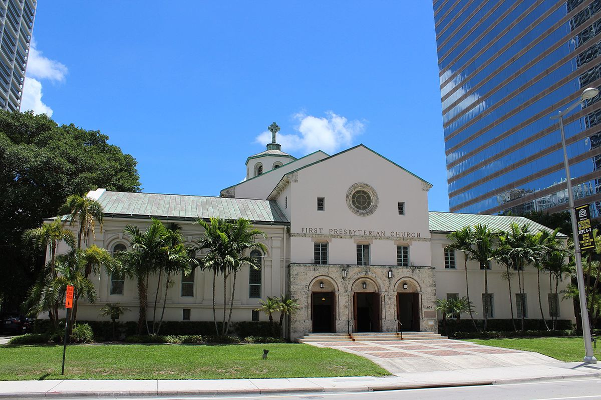 First Presbyterian Church Miami Florida Wikipedia