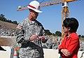 First concrete ceremony for Folsom Dam spillway (7264608694).jpg