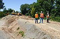 First day of levee construction near Sacramentoâs River Park (9372404668).jpg