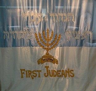 First judean flag