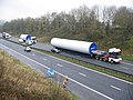 First turbine delivery on the M66 - geograph.org.uk - 635285.jpg