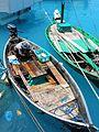Fisherman with catch, Maldives 2005. Photo- AusAID (10695243026).jpg