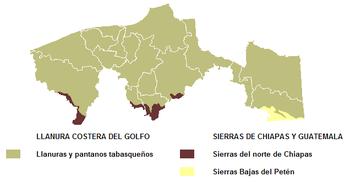 Geografa de Tabasco  Wikipedia la enciclopedia libre