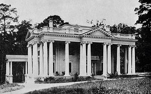 Florida Governor's Mansion - The original Florida Governor's Mansion, circa 1912.