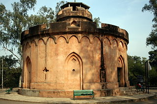 Flagstaff Tower 19th-century signal tower in Kamla Nehru Ridge, Delhi, India