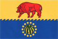 Flag of Bykovsky rayon (Volgograd oblast).png