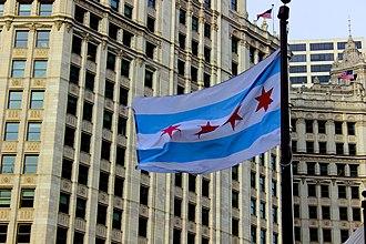 Flag of Chicago - Flag of Chicago (2015)