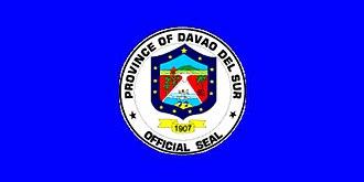 Davao (province) - Image: Flag of Davao del Sur