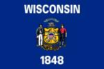 Flag of Wisconsin (September 17, 1979)