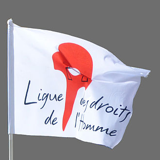 Human Rights League (France) - Flag of the Ligue des droits de l'homme