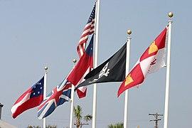 Flags on Tybee Island.jpg
