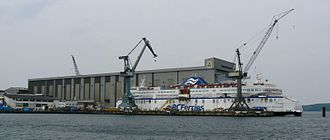 Flensburger Schiffbau-Gesellschaft - Image: Flensburger Schiffbaugesellschaf t Flensburg 2007 v 1