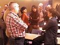 Flickr - Convergència Democràtica de Catalunya - Oriol Pujol conversant amb els periodistes després de la roda de premsa.jpg