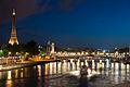 Flickr - Whiternoise - Pont de la Concorde, Eiffel Tower.jpg