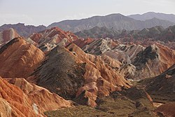 Landscape of Zhangye National Geopark