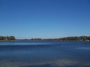 Tsala Apopka Lake - southern section near Floral City