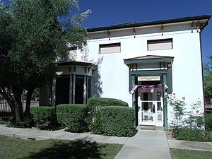 Richard Elihu Sloan - Governor Sloans residence in Florence, Az. is located in 190 Main St.