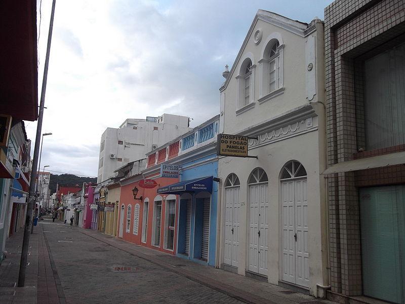 Ruas para compras em Florianópolis
