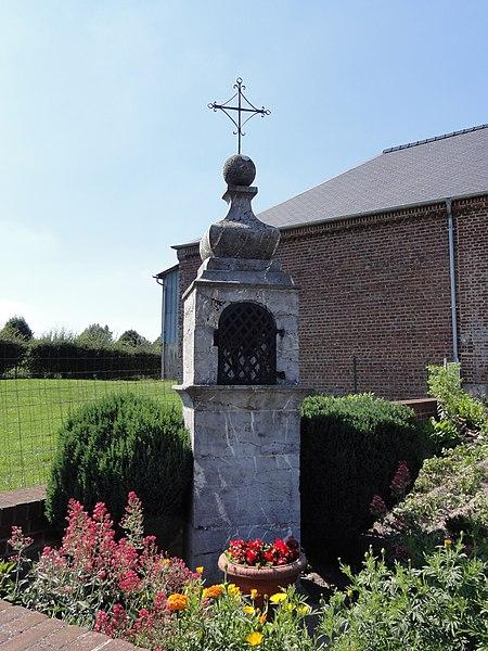 Floyon (Nord, Fr) chapelle à Plouy