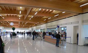 Kassel Airport - Main hall