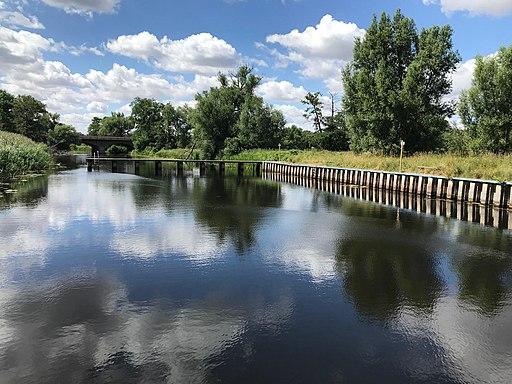 Flussbad Rehsumpf Badestelle