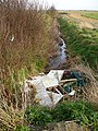 Fly tip in a ditch - geograph.org.uk - 359190.jpg