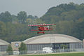 Fokker DVII Ernst Udet Hard Landing 02 Dawn Patrol NMUSAF 26Sept09 (14596622841).jpg