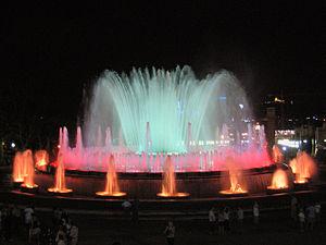 Carles Buïgas - Magic Fountain, Montjuic