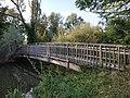Footbridge Over River Cherwell At Parsons Pleasure Punt Rollers.jpg