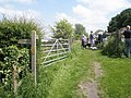 Footpath junction at Church Farm - geograph.org.uk - 1319431.jpg