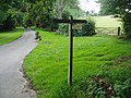 Footpath signs near Hooklands - geograph.org.uk - 33030.jpg
