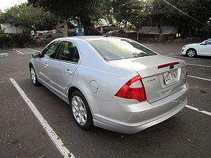 Ford Fusion (Americas) - 2010 facelift