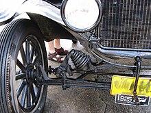 model t ford emergency brake