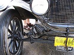 Px Ford Model T Suspension Triddle