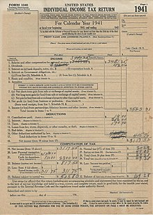 Form 1040 Wikipedia
