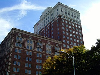 Fort Shelby Hotel - Image: Fort Shelby Doubletree Detroit