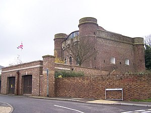Fort Clarence - Fort Clarence today